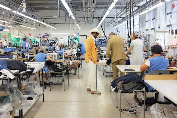 Фабрика Caruso в Парме - Соранья