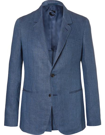 пиджак Caruso голубого цвета
