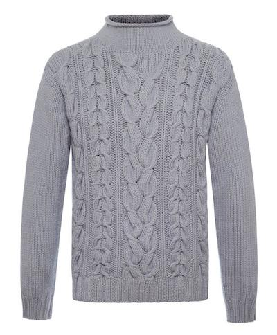 malo свитер серый