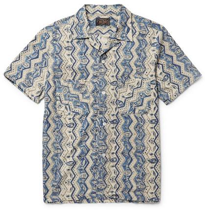 необычная рубашка из Японии