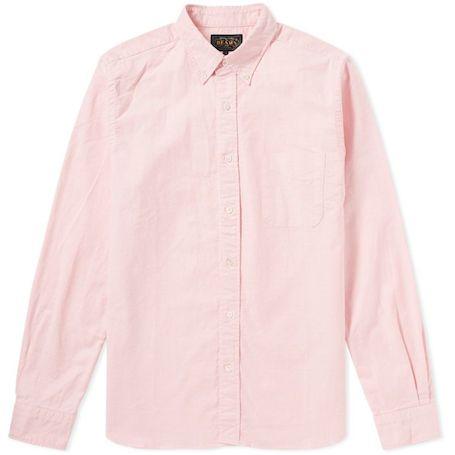 Beams Plus рубашка из оксфорда
