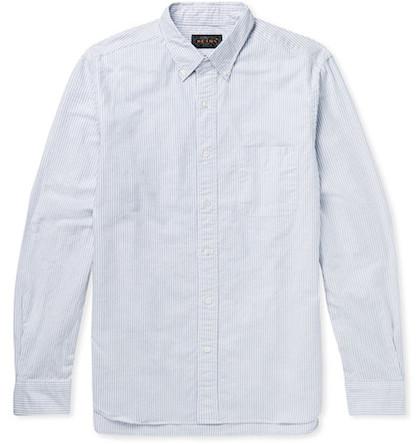 Beams Plus рубашка полосатая
