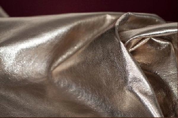 кожа металлик из Италии