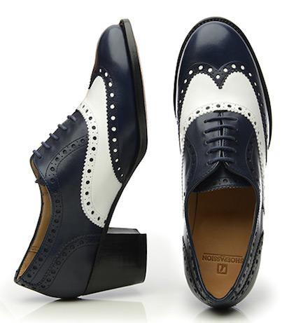 Женские туфли с подкладкой из кожи