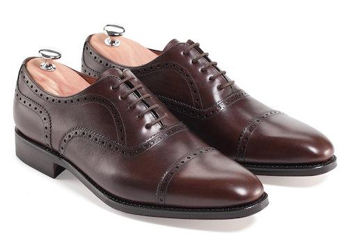 испанские туфли-оксфорды
