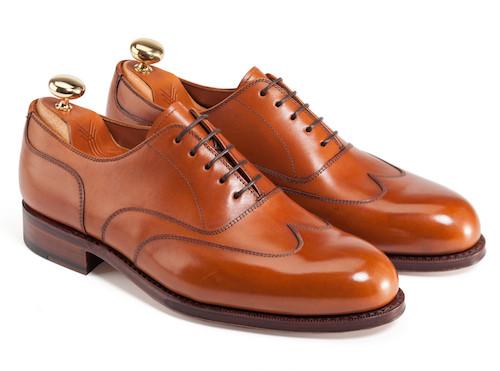 коричневые туфли Yanko из Испании