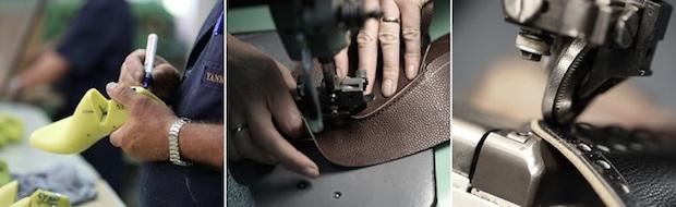 как делают обувь Yanko