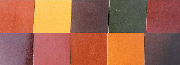 Annonay полуанилиновая кожа