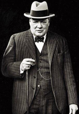 шляпа Черчилля