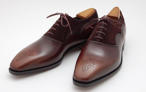 коричневые туфли Corthay