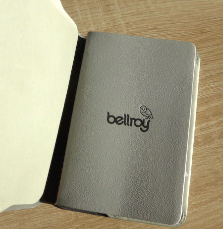 Bellroy notebook обложка