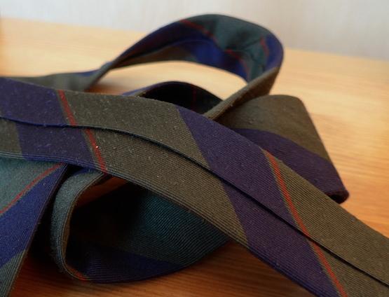 галстук из шелка шантунга