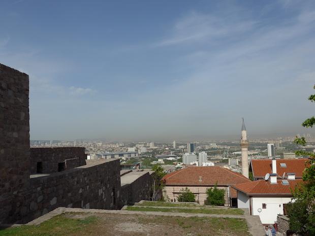 Панорама Анкары