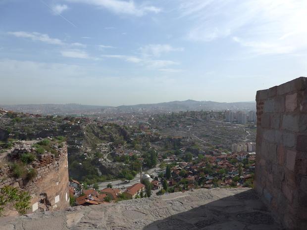панорама от крепости Анкары