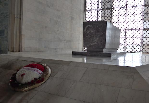 Интерьер мавзолея Ататюрка