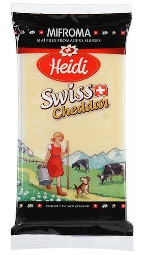 Heidi Swiss Cheddar
