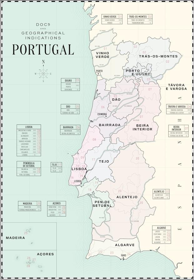 португальские вина на карте
