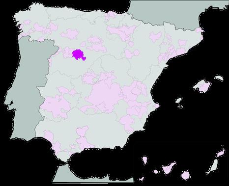 Руэда апелласьон на карте