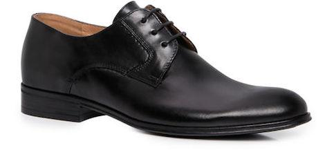 черные бюджетные туфли