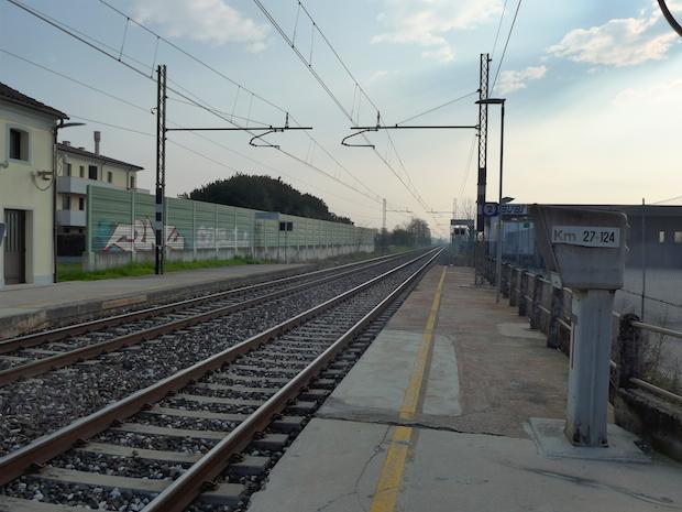 итальянские электрички - платформа