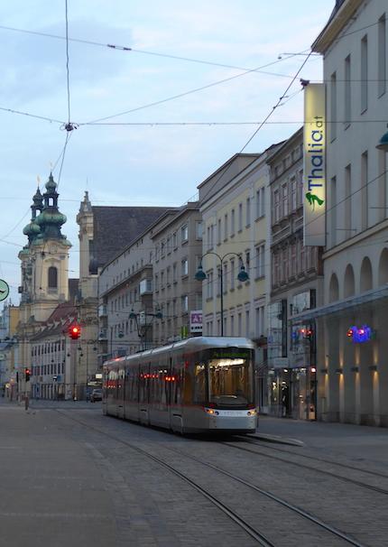 трамвай Линц
