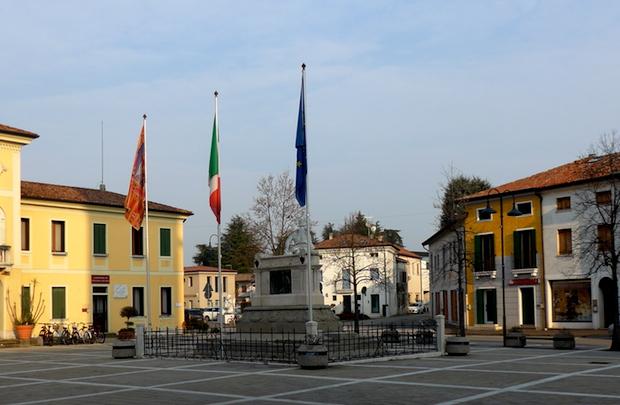 площадь в Галльере Венета