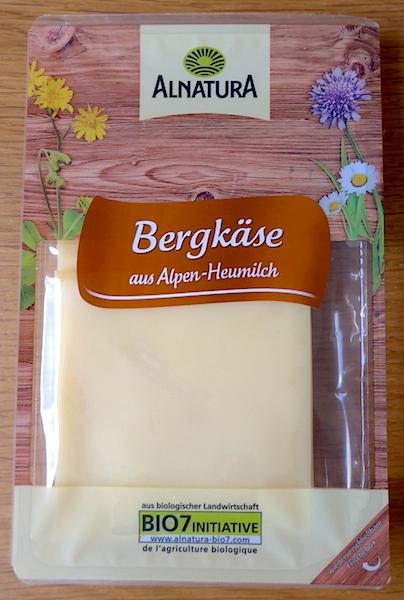 Сыр Alnatura Bergkase