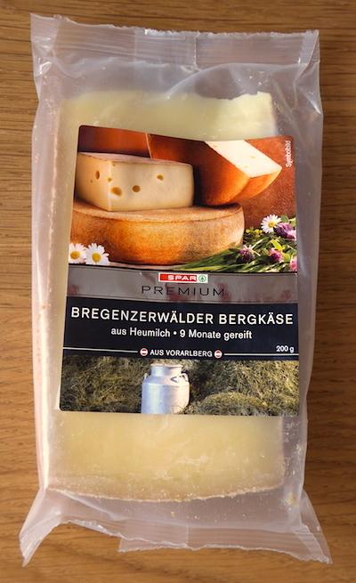австрийский сыр Bregenzerwalder Bergkase