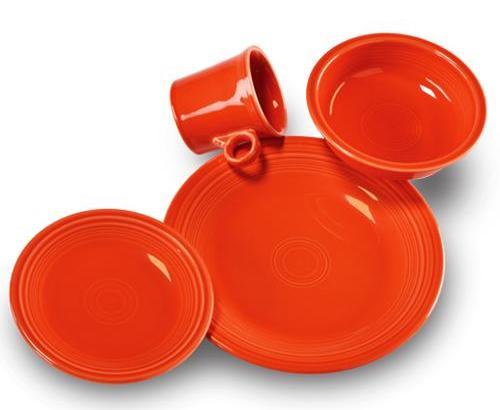 американская посуда Fiesta