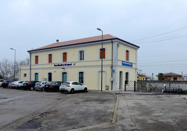 Станция в Сан Мартино