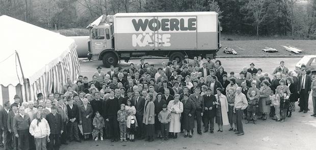 Брендированный грузовик Woerle