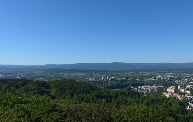 панорама Башня Диана