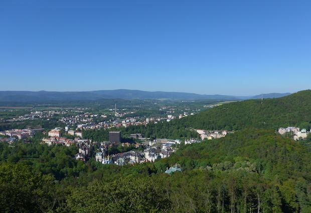 панорама Карловы Вары