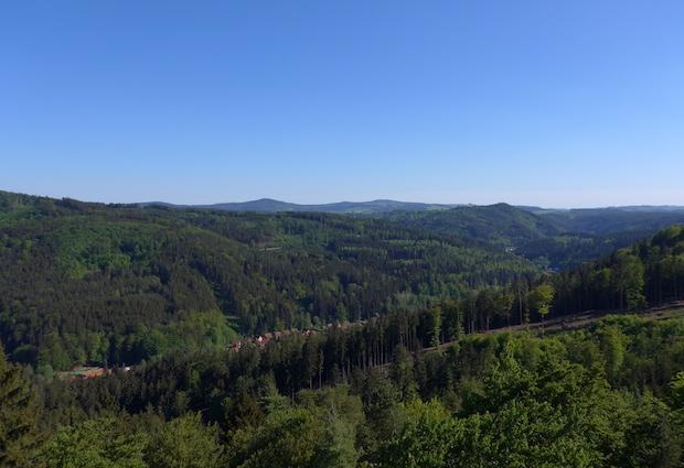 карловарская панорама