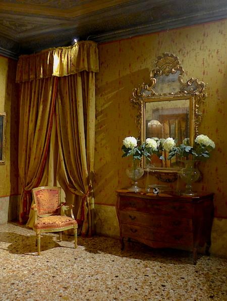 обстановка во дворце Мочениго