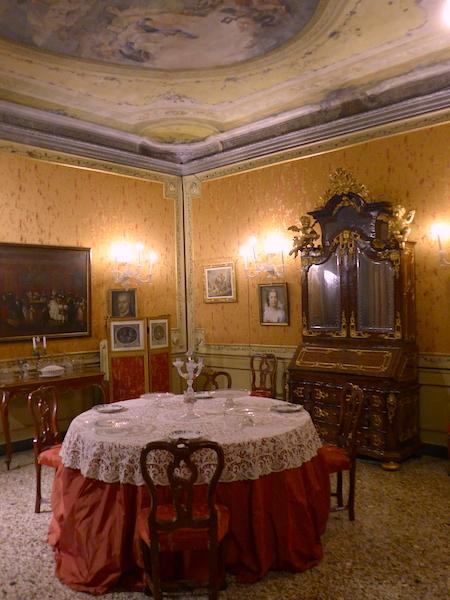 интерьер палаццо Мочениго