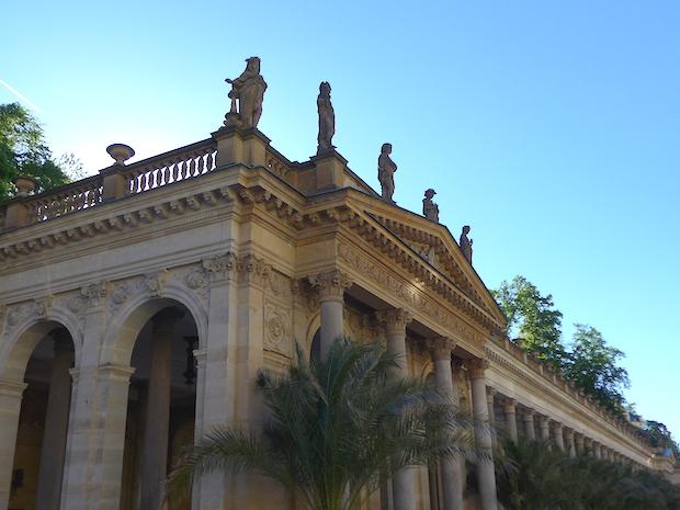 фрагмент мельничной колоннады