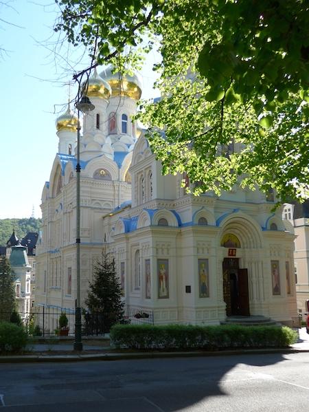 Карловы Вары исторический центр