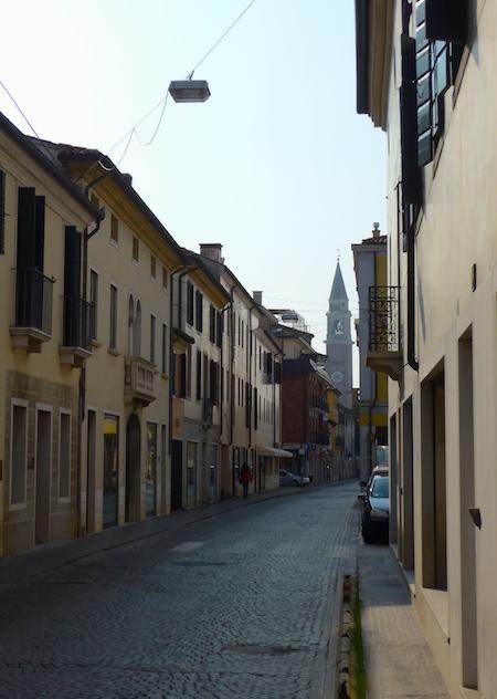 улица в Кастельфранко Венето