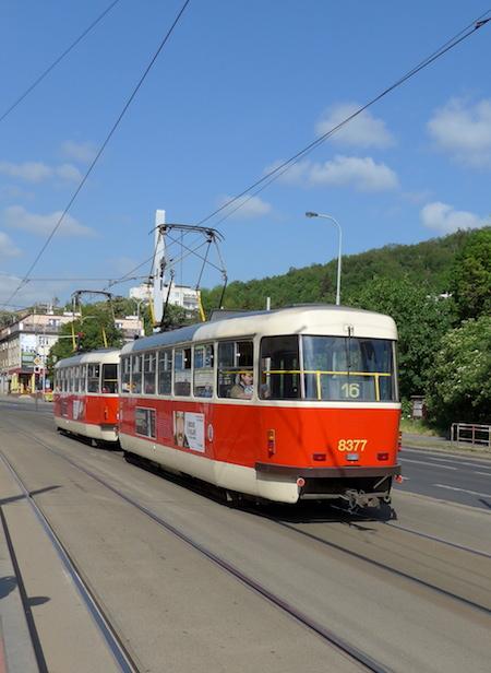 трамвай 16 Прага