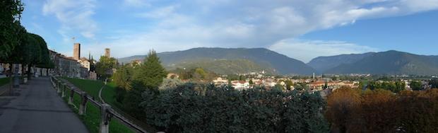 Бассано-дель-Граппа панорама