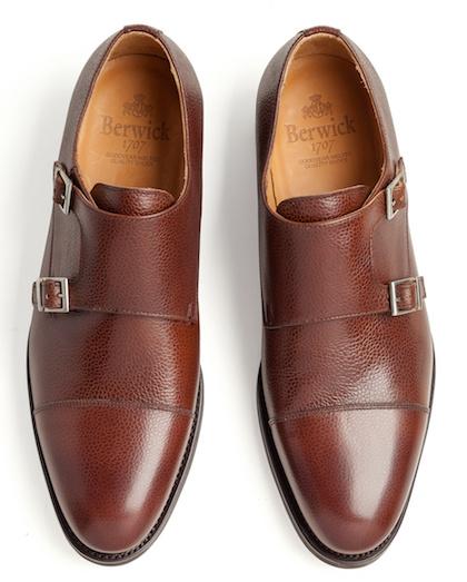 туфли зернистая кожа