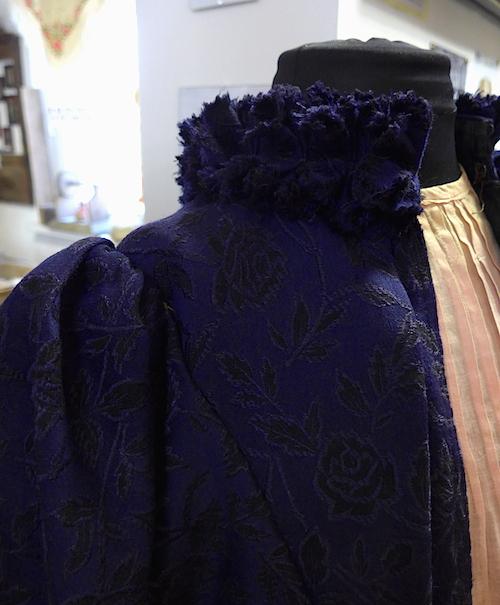 фрагмент платья шелк
