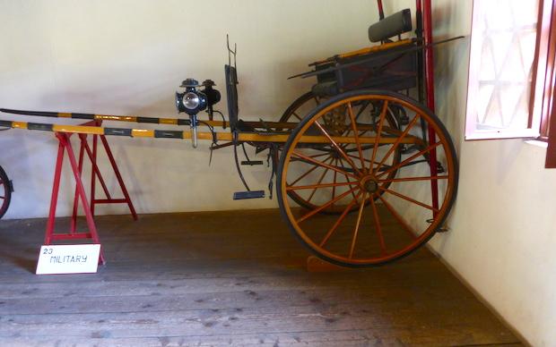 музей карет при вилле Барбаро