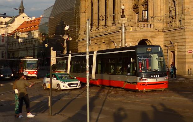 трамвай в Чехии