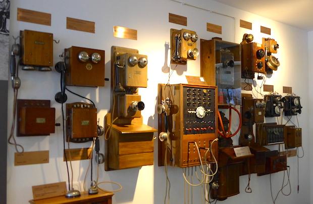 телефоны в музее