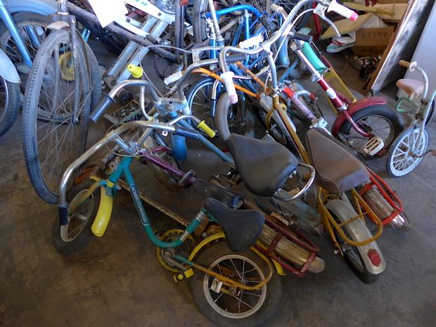 старые детские велосипеды музей