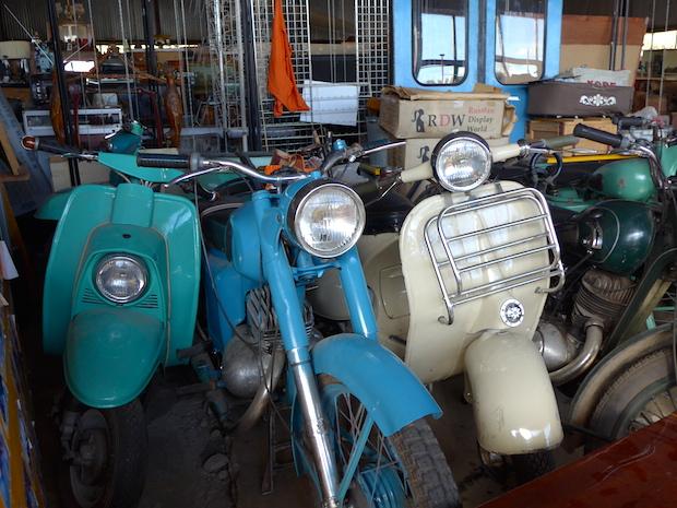 мотороллеры в музее