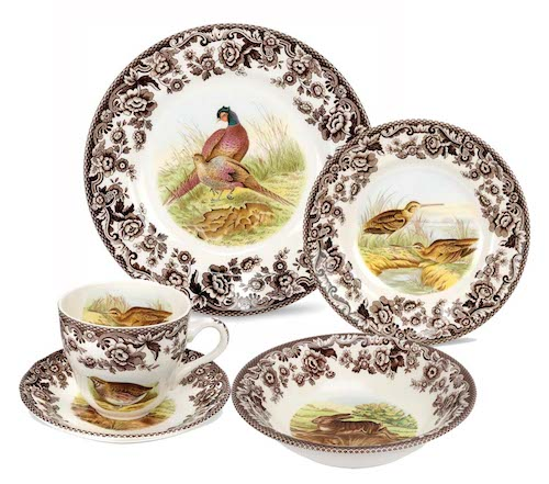 Spode Woodland set