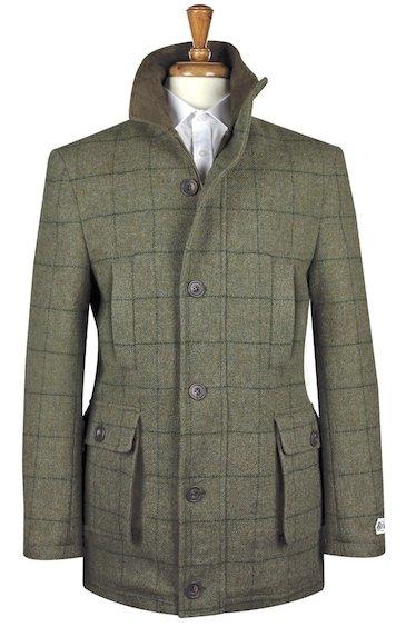 куртка из твида